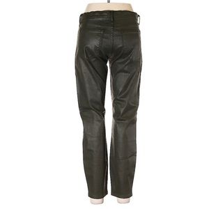 Banana Republic Faux Leather Skinny Green Pants 26